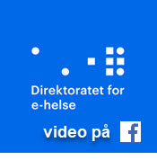 Direktoratet ehelse video facebook